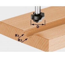 Fraise à profiler HW avec queue de 8mm FESTOOL HW S8 D19/R5/R4 - 491032