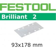 Abrasif pour ponçeuse FESTOOL Brilliant 2 - 93 x 178 mm