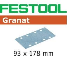 Abrasif pour ponçeuse FESTOOL Granat  - 93 x 178 mm
