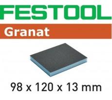 Éponge de ponçage FESTOOL 98x120x13 60 GR/6 - 201112