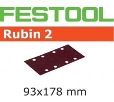 Abrasif pour ponçeuse FESTOOL Rubin 2 - 93 x 178 mm