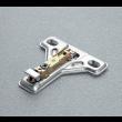 Embase acier clipsable SALICE  - BAU3