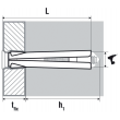Cheville métal à cône MR TF SCELL-IT - 10 x 72 mm - MR10072