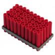 Cheville en grille REDHEAD rouge Ø6 x 35 mm - 50 pièces - RUF3-35