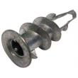 Boite 100 Chevilles placo plaque Plak métal + vis ING FIXATIONS - A200010