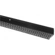 Profil de ventilation bas PVC brun UBBINK pour bardage - 30x30 mm - L.2m50 - 850501