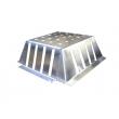 Pare graviers - Zinc - 150x150 - EPGZ150150