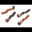 Crochet de faîtage pour tuile béton UBBINK - ocre - 470/53 - sachet de 50 - 203821