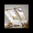 Fenêtre de toit VELUX à projection - Confort - Finition bois - 78 x 98 cm - GPL MK04 3076