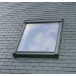 Fenêtre de toit VELUX à rotation - Confort - Finition blanche - GGU CK04 0076 55x98