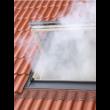 Exutoire de désenfumage VELUX - Kit d'ouverture pneumatique sans thermodéclencheur avec déflecteurs - S3076PD