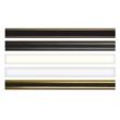 Tringle pour crémone ROLLINGER 16x8 L.1300 mm - Noir 9006 - TR168/13EN