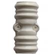 Coulant rustique blanc ROLLINGER pour tringle crémone 16x8 - CRF168COULANTEB