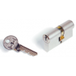 Cylindre Europa KABA - Laiton poli - 30x60mm - Sur passe général - Double - 3clés