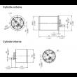 Cylindre adaptable MUL-T-LOCK CAZIS 262S+ - 3 Clés