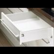 Paire côté de tiroir Blanc HETTICH MultiTech 118 x 350 mm - simple paroi s.partielle - 9127893