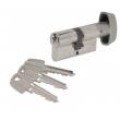 Cylindre à bouton nickelé TE5 TESA 70mm - B30x40mm - 503B4030N