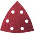 Pack de 50 feuilles abrasives triangulaires BOSCH - 93x93 mm - P120 - 2608607882