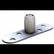 Guide du bas à olive Nylon MANTION - Sur platine à visser - Pour U 25x17 mm - 1102