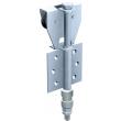 Monture intermédiaire fixation sur plat, 2 galets en polyamide montés sur cage à rouleaux - Force 50 kg - Profil associé : 40 x 6 - MANTION - BOB50