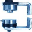 Pivot Ø 70 en acier bichromaté réglable 25072 à visser MANTION - 25072