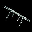 Fiche dégondable 190A DECAYEUX L.297mm acier fer patiné 52 - 1440052180