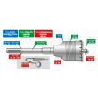 Porte trépan couronne SDS DIAGER - L.420 mm - 330L0420