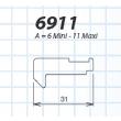 Crochet pour Solo et Senzo 31 mm LA CROISEE DS - 6911