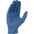 Gant nitrile SINGER Usage unique - Bleu - EN374
