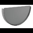 Talon emboîtable demi-rond AMELUX - cuivre - dev. 33 - 51336