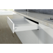Kit tiroir simple arcitech HETTICH - H.94mm - blanc - DIVE001