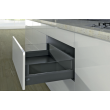 Casserolier Arcitech HETTICH - Designside - h218/126mm - anthracite - sans coulisse - DIVE001
