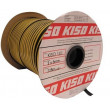 Joint d'étanchéité EPDM 141 KISO - 8x2 mm - Noir - Rouleau 225 mL - 1412x8N