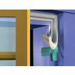 Joint de calfeutrement ELTON - Profil P - Brun - Mètre L - 600302510