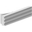 Joint de calfeutrement ELTON - Profil D - blanc - prix au ml - 3000015