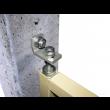 Kit pivot de portail - ING FIXATIONS - à cheviller - 414550