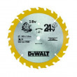 Lame scie circulaire DEWALT – bois – Ø165 mm – AL20 – 24 dents – DT1949