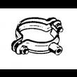 Collier cylindrique à embase AMELUX - 7 x 150 - Ø 100mm - 52615
