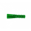 Boîte 250 chevilles sans collerette R6 verte R.A.M SA - Ø6 mm - L.30 mm - 9061