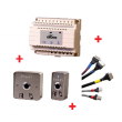 Pack easy acces évolution - bouton + contact + alim + cablage - GROOM - GRS411010