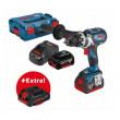 Perceuse visseuse GSR 18V-85 C BOSCH + batteries 2x5Ah +1x4Ah Procore - 0615990K7P