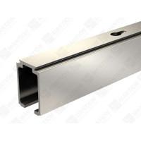 Rail alu pour SAF40/SAF80 MANTION SAS - Pour porte 40/80 Kg - L.3 m - 11108/300