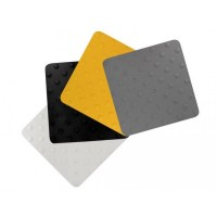 Dalles podotactiles DINAC Dinalert - Blanche DV10 TPU - 450 x 412 mm - 102229D