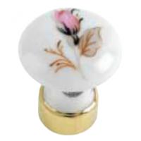 Bouton de cr/émone porcelaine MERIGOUS