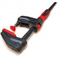 Serre-joint à engrenage Gearklamp BESSEY - serrage 150 mm saillie 60 mm rail 19 x 6 mm - GK15