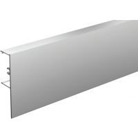 Bandeau alu anodisé MANTION SAS - Pour fixation rail sous plafond - SAF40/SAF80 - L.2 m - 11011/200