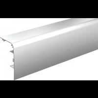 Bandeau alu anodisé MANTION SAS - Pour fixation du rail au mur SAF40/SAF80 - L.2 m - 11041/200