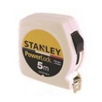 Mètre double marquage STANLEY 5m x 19mm Powerlock Classic ABS - Blanc - STHT81536-0BLANC