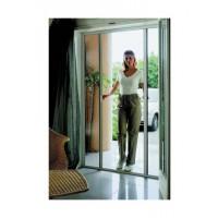 Moustiquaire NEW IDEA horizontale - Blanc - H.250xL.140 - 1 vantail - NIDL1B10025026
