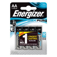 Pile Energizer Max Plus AA LR6 BL/4 TORRO - EELR06